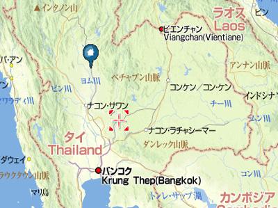 タイで長距離運転