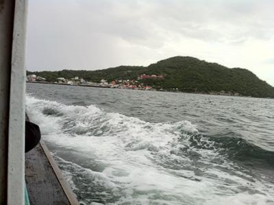 シーチャン島で筏釣
