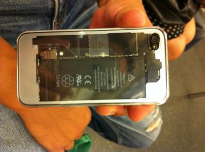 iPhone 4 裏蓋交換
